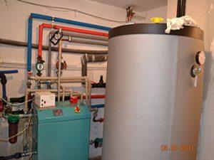 Инсталация с отопление, охлаждане и затопляне на басейн
