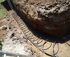Хоризонтална затворена система при липса на подпочвени води